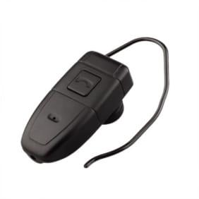 Skrytá kamera kamuflovaná v sluchátku Bluetooth
